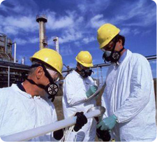 TERS' biological and chemical experts are trained to inspect and remove contaminations in accordance with federal health regulations